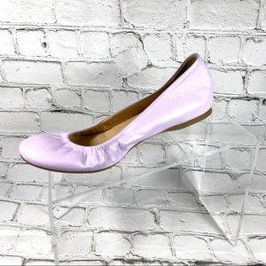 J. Crew very light purple ballet flats 6.5
